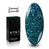 NYK1 NAILAC - DIAMOND EMERALD - Professional Shellac Gel Nail Polish -...