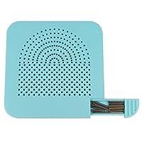 ULTNICE Quilling Conseil papier Craft enrouleur avec Pins stockage outil bricolage bleu