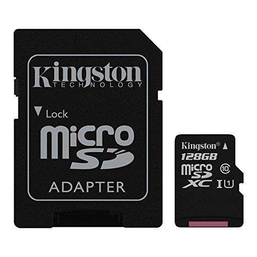Kingston SDC10G2/128GB - Tarjeta de Memoria microSDXC de 128 GB