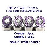Kugellager Skate Sk86088x 22x 7, ABEC 7) Stahl Ultra Spin Scooter