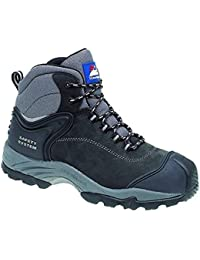 Himalayan Black Lightweight Waterproof Non-Metallic Safety Boot - 4103