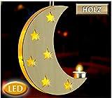 Wenko LED-Dekoleuchte Mond LED 7245300502 Beige