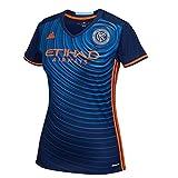 adidas Womens Ladies Football Soccer New York City FC Away Shirt 2016 Jersey - M
