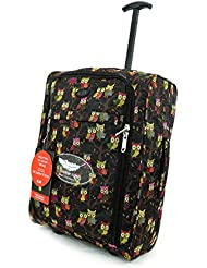 Carro ligero–Bolsa de equipaje de mano aprobado Ryanair y Easyjet cabina 2ruedas maleta Carry On Board Equipaje. 42L de viaje bolsa
