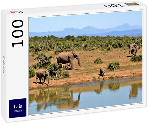 Lais Puzzle Elefantes 100 Piezas