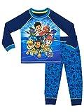 Paw Patrol Jungen Ryder Chase Marshall Schlafanzug, Mehrfarbig, 110 (Herstellergröße: 4-5 Jahre)
