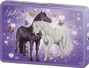 Schmidt Spiele 55549 - Puzzle de caballos en caja metálica (100 piezas)