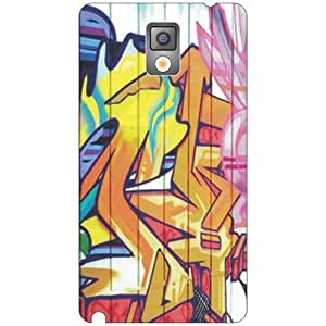 Samsung Galaxy Note 3 painting Phone Cover - Matte Finish Phone Cover