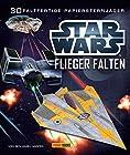 STAR WARS Flieger falten - Falte 30 Papier-Sternenjäger