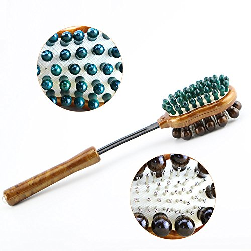 KIKIGOAL Massage Hammer Fitness Hammer 38(+11.5cm)×8×6 cm Für Körper/ Bein/ Taille/ Rücken/ Hals/ Halswirbel massieren