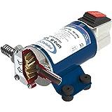 Marco UP3-R Elettropompa Autoadescante Reversibile ad Ingranaggi Elicoidali in Bronzo, Portata: 15 litri/min