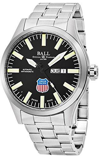 Ball Ingenieur II Union Pacific Big Boy Limited Edition Tag Datum Schwarz Face Schweizer Automatik Edelstahl Herren Armbanduhr (Pinterest Halloween College)