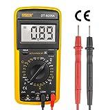 Digtital Multimeter Messgerät LCD Voltmeter Tester Amperemeter Ohmmeter DT-9205A mit robutes Case mit 9V Batterie