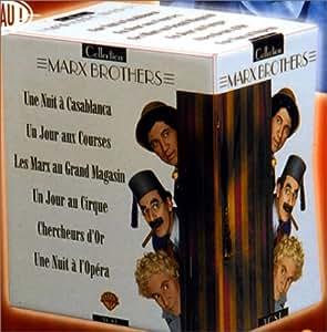 Best of Marx brothers;une nuit a casablanca;une nuit a l' opéra;un jour aux courses;les Marx au grand magasin; [VHS]