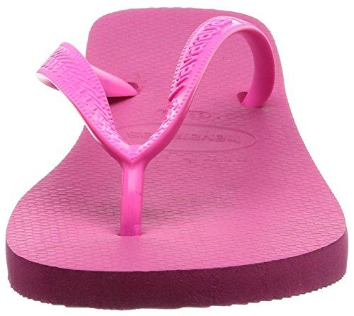 Havaianas Brasil Unisex-Erwachsene Zehentrenner rosa (Rosé choquant)