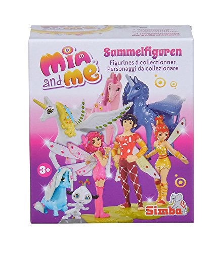 Simba 109480100 and Mia und Me Sammelfiguren, 16-sort. , girls