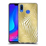 Official Caitlin Workman Palms Gold Organic Soft Gel Case for Huawei Nova 3
