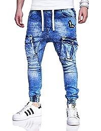 MT Styles Cargo Jogging-Jeans pantalon homme RJ-3194