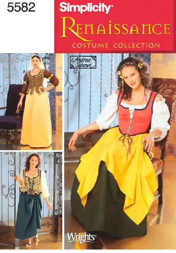 ster 5582P5Schnittmuster Kostüme (Muster Für Renaissance-kostüme)