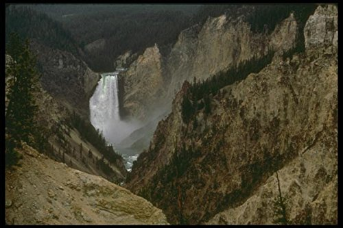 176042 The Grand Canyon Of Yellowstone National Park A4 Photo Poster Print 10x8 -