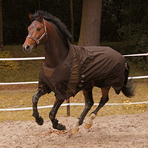euro-star Weidedecke Move 360g -Ebony/Umber