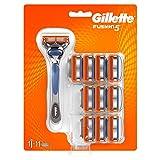 Maquinilla de Afeitar Gillette Fusion + 11 Recambios