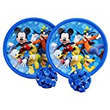 Disney DI2001 Mickey Plastic Catch Ball, Kid's (Blue)