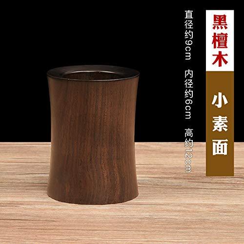 Ebenholz Stifthalter Mahagoni Carving Holz Retro Pinsel Stift Schreibtisch Stifthalter Wenfang vier Schatz Studie Geschenk Massivholz @ A1 -