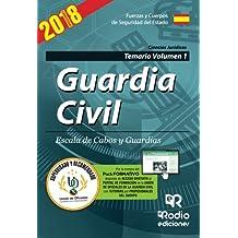 Guardia Civil. Escala de Cabos y Guardias. Temario Volumen 1. Quinta Edición