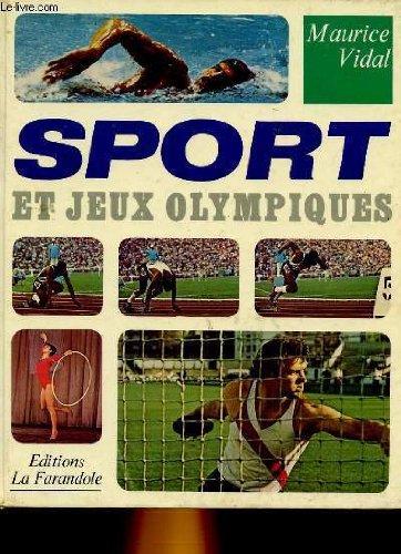 Sport et jeux olympiques par MAURICE VIDAL