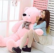 OSJS Premium Quality Huggable Stuffed Teddy Bear in Pink Color – 3 Feet