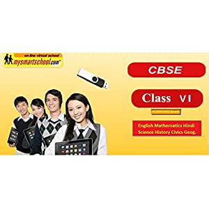 Class Sixth (6th) CBSE USB Pendrive Course Ver 3.0 with Latest CBSE Syllabus of 2020-21 (Engilsh Maths Hindi Science Physics Chemistry Biology Social Science History Civics Geography) with FUN Songs Plenty of FUNSHEETS All Lessons are Interactive Multimedia Video Lessons with multiple Questions on the basis of CBSE Evaluation Blue Print