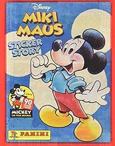 Panini-Caja de 50Sobres Mickey 90años, 2423-004