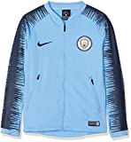 Nike Kinder Manchester City FC Anthem Jacke, Field Blue/Midnight Navy, S