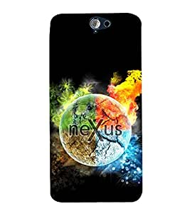 Vizagbeats Nexus on Earth Back Case Cover for HTC One A9