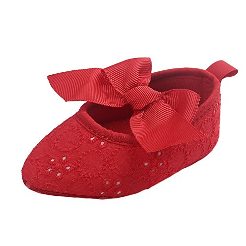 Frog Lauflernschuhe Point Jane Baby Toe Rot M盲dchen Leap Mary vd6vR