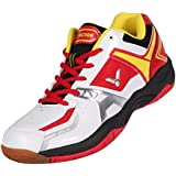 Victor AS-3W Badminton Shoe ( White/Red)