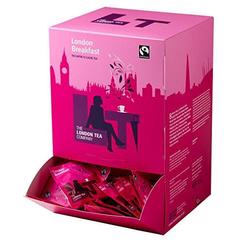 The London Tea Company Fairtrade London Breakfast 250 Envelope Teabags