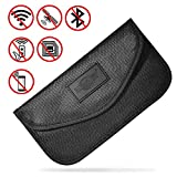 MONOJOY Large Faraday Bag, Faraday Pouch for Car Keys, Car Key Signal Blocker, Keyless Entry RFID Blocker Bag (Large Faraday Bag)