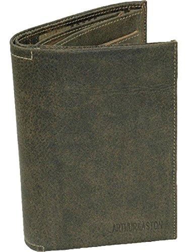 Arthur & Aston-Portafoglio in pelle vacchetta Ref _ ast25721 nero Taglia unica