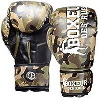 Boxeur Des Rues BXT-5146 - Guantes de boxeo, Camouflage, 14OZ
