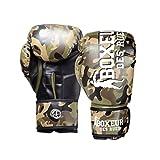 """Découvrez legantde boxe boxeur des rues. Ce gant de boxe boxeur des rues""""Camou"""" est destiné à toutes les disciplines et convient à un usage loisir. Il arbore un design original avec son revêtement camouflage. Il est fabriqué dans un cuir synthéti..."""