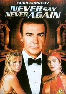 Never Say Never Again [DVD] [1983] (B00005ABTT) | Amazon price tracker / tracking, Amazon price history charts, Amazon price watches, Amazon price drop alerts