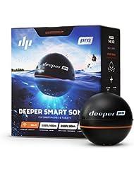 Deeper PRO Sondeur Portable – Sondeur pour Kayak ou Float Tube sans fil Wi-Fi