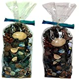 Atorakushon Pack of 2 Mixed Fragranced Potpourri Bag Scented Leaf Perfect Gift for Housewarming Can Be used For Decoration/ Floating Candle Bowl