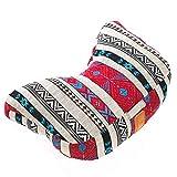 #DoYourYoga® Yogahörnchen/Yogakissen Karim - gefüllt mit Bio-Dinkelspelz (KBA) - waschbarer Bezug/hoher Sitzkomfort - ideal als Meditationskissen, Sitzkissen & Wohnkissen 6