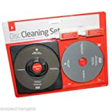 Laser Lens and Disc Cleaning Set PS3 Wii XBOX 360 Blu Ray DVD CD DISC 2 in 1!!!!
