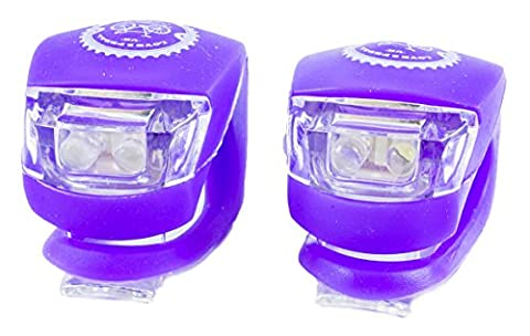 Love2PedalUK® Bike Lights Bicycle Safety - Warning Lights - Taillights