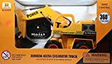 #6: Kotak Sales Smart JCB Excavator Truck Shovel Loader Truck Vehicle 360 Degree Rotation Wired Remote Control Toy Game 6825A