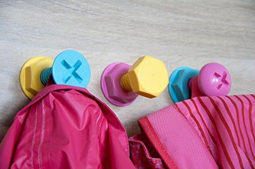 Attaccapanni Da Parete Per Bambini.Appendiabiti Adesivi Alla Moda Originali Nuemira Utilizzabili Come